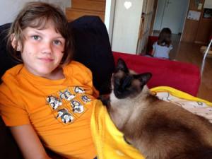 Sergej chat heureux
